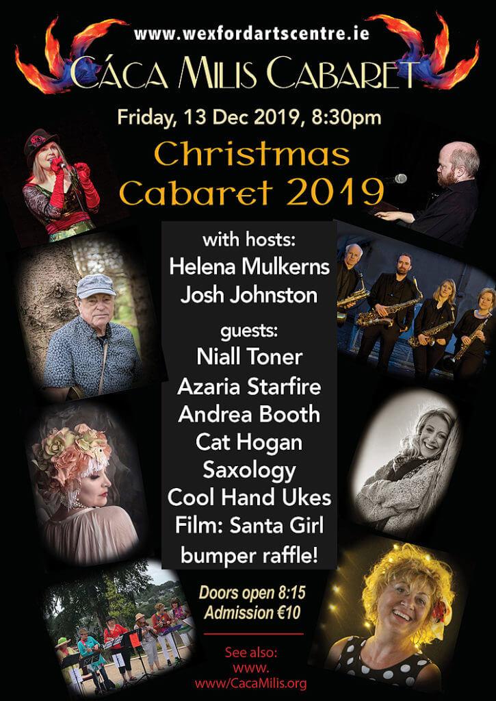 Cáca Milis Cabaret Christmas 2019