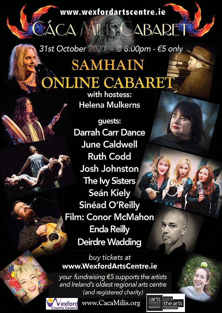 Cáca Milis Cabaret Samhain 2020